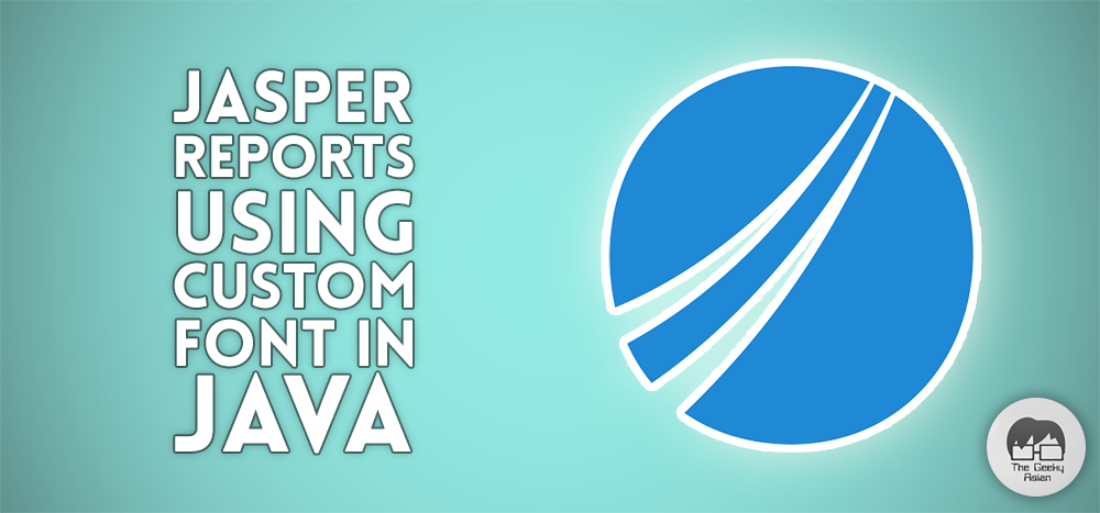 Add Custom Fonts to Jasper Report in Java